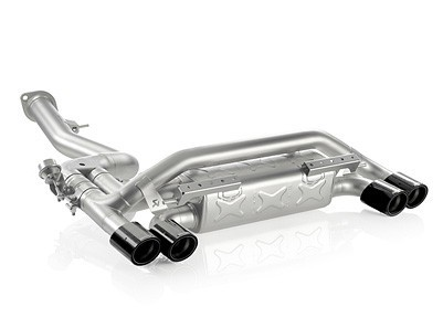 Akrapovic - Slip-On Titanium Exhaust System - BMW E82 1M
