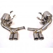 Agency Power Titanium Exhaust System w/Quad Tips Porsche 997 Carrera 05-08