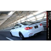 3D Design - Carbon Fiber Rear Diffuser - BMW F8X M3 & M4