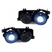 E-code Smoked Cross Hair Projector Headlights with HID for BMW E30