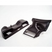 Agency Power Dual Flow Matte Black Intake Porsche 996TT 01-05