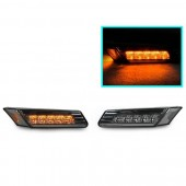 Smoked Amber LED Bumper Sidemarkers for 997 Carrera & 987 Boxster & Cayman