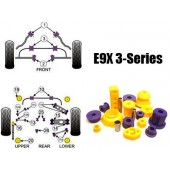 Powerflex - Polyurethane Bushings - BMW E9X 3-Series